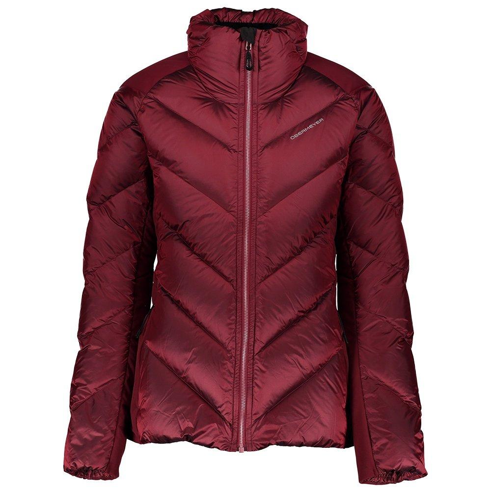 Obermeyer Ion Stretch Down Jacket (Women's) - Major Red