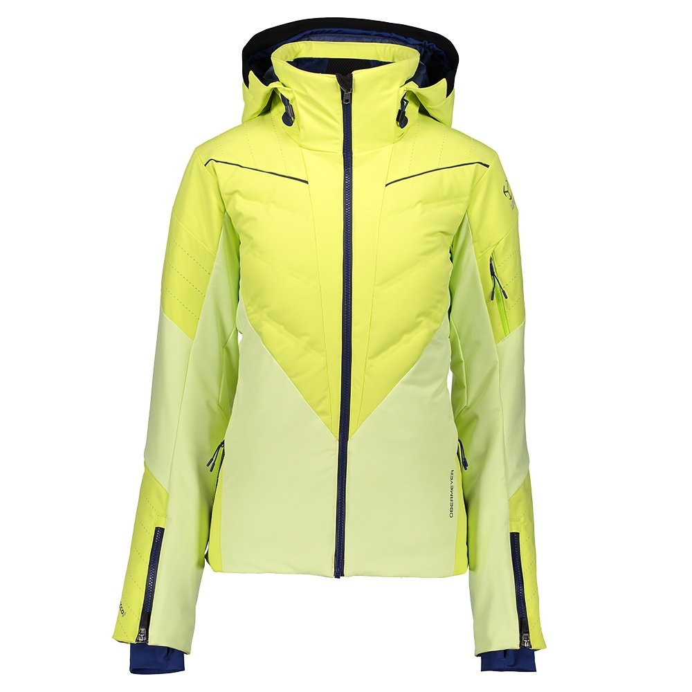 Obermeyer Razia Down Hybrid Ski Jacket (Women's) - Flare