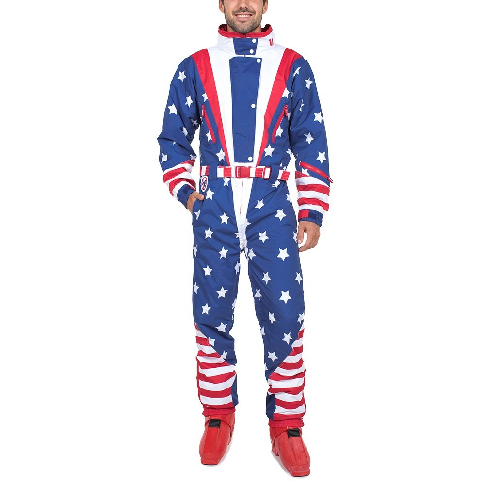 Tipsy Elves Americana Ski Suit (Men's) - USA
