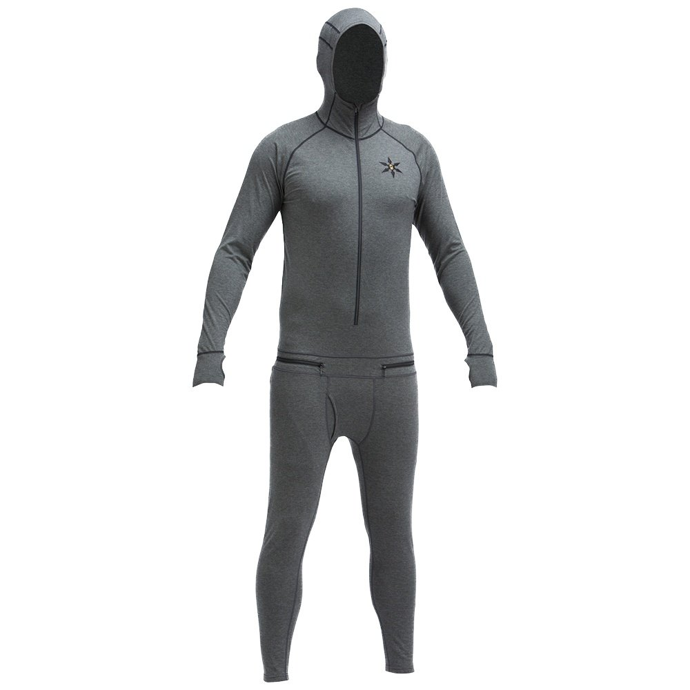 Airblaster Merino Ninja Suit Baselayer (Men's) - Natural Black