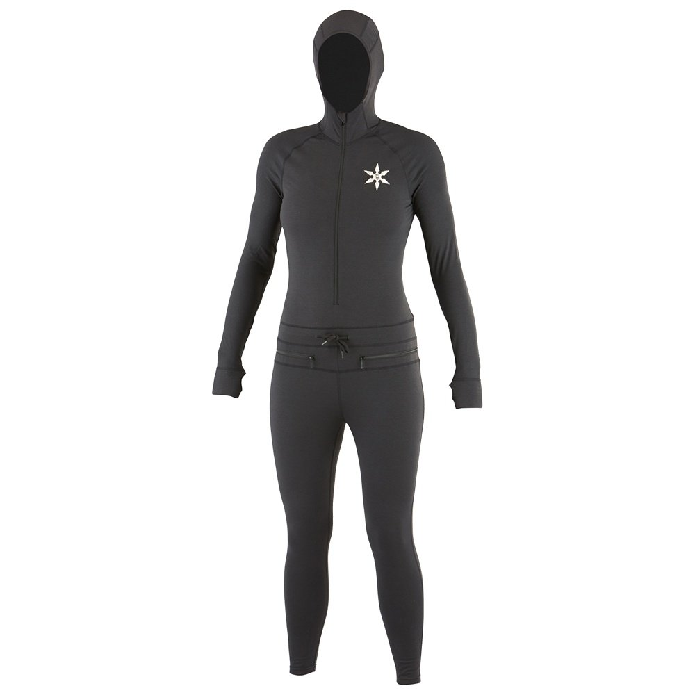 Airblaster Merino Ninja Suit Baselayer (Women's) - Natural Black