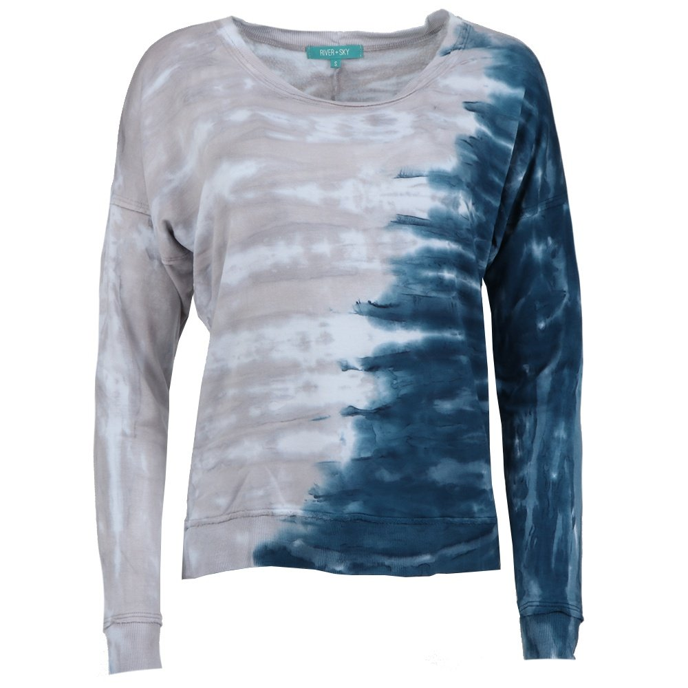 River + Sky Sunday Sweatshirt (Women's) - Stormy