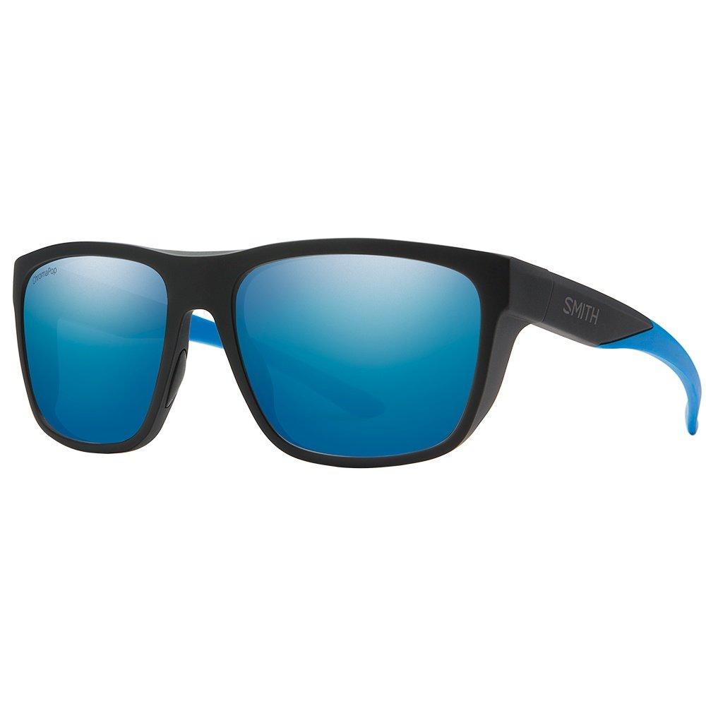 Smith Barra Sunglasses - Matte Black/Blue