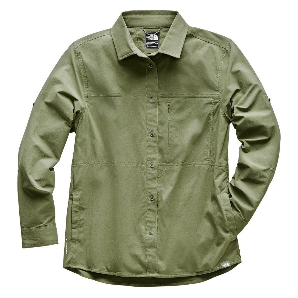 The North Face Boreaz Long Sleeve Roll-Up Shirt (Women's) - Four Leaf Clover