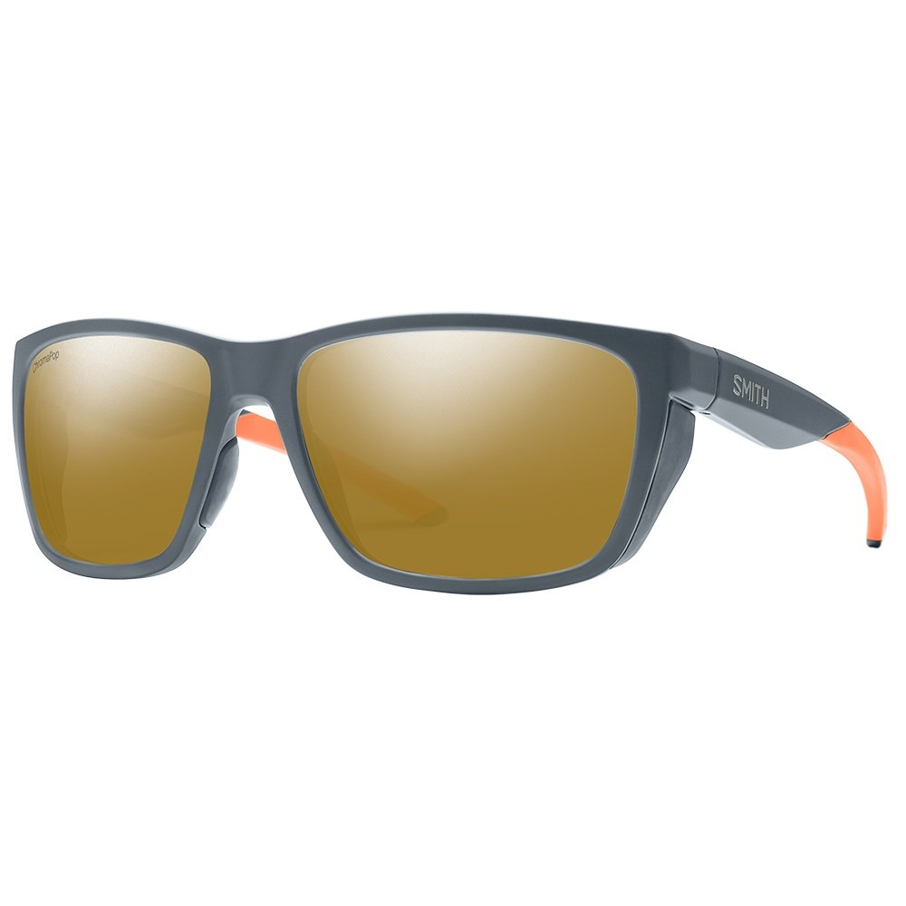 Smith Longfin Polarized Sunglasses - Matte Thunder
