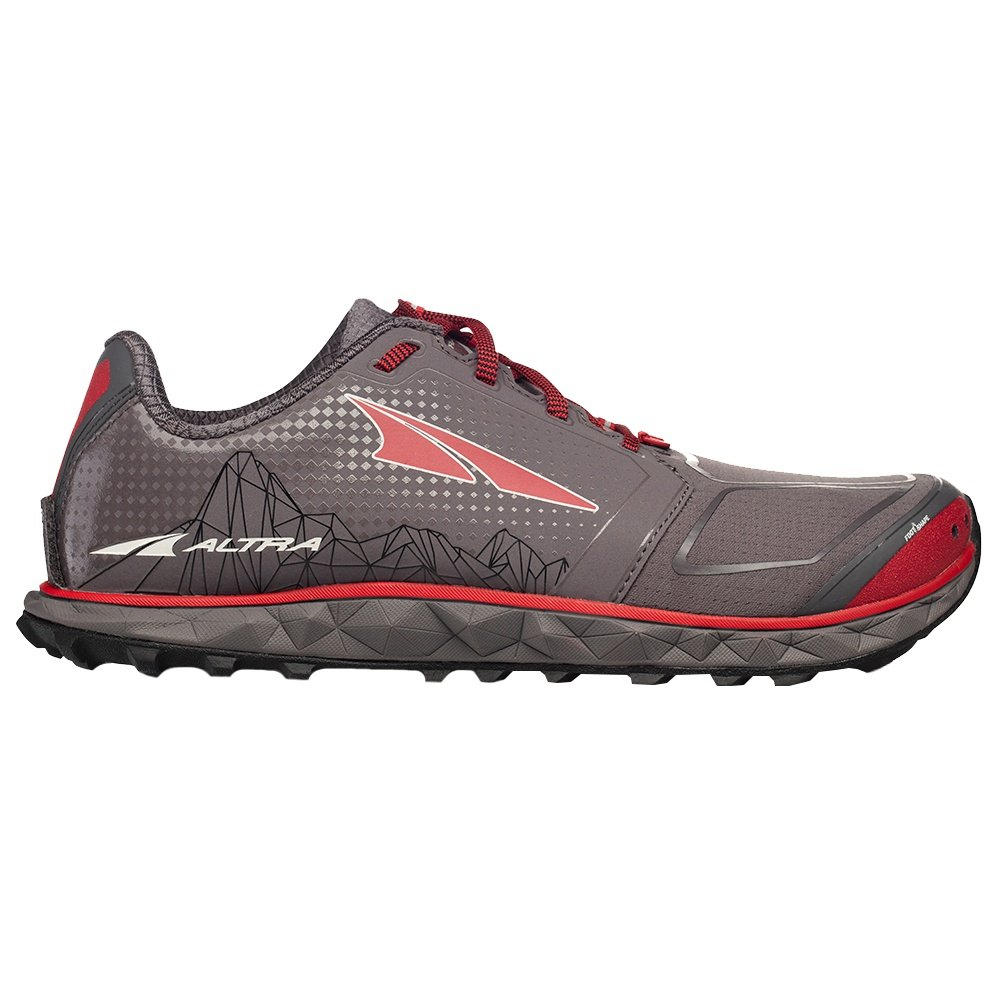 Altra Superior 4 Trail Running Shoe (Men's) - Grey/Red