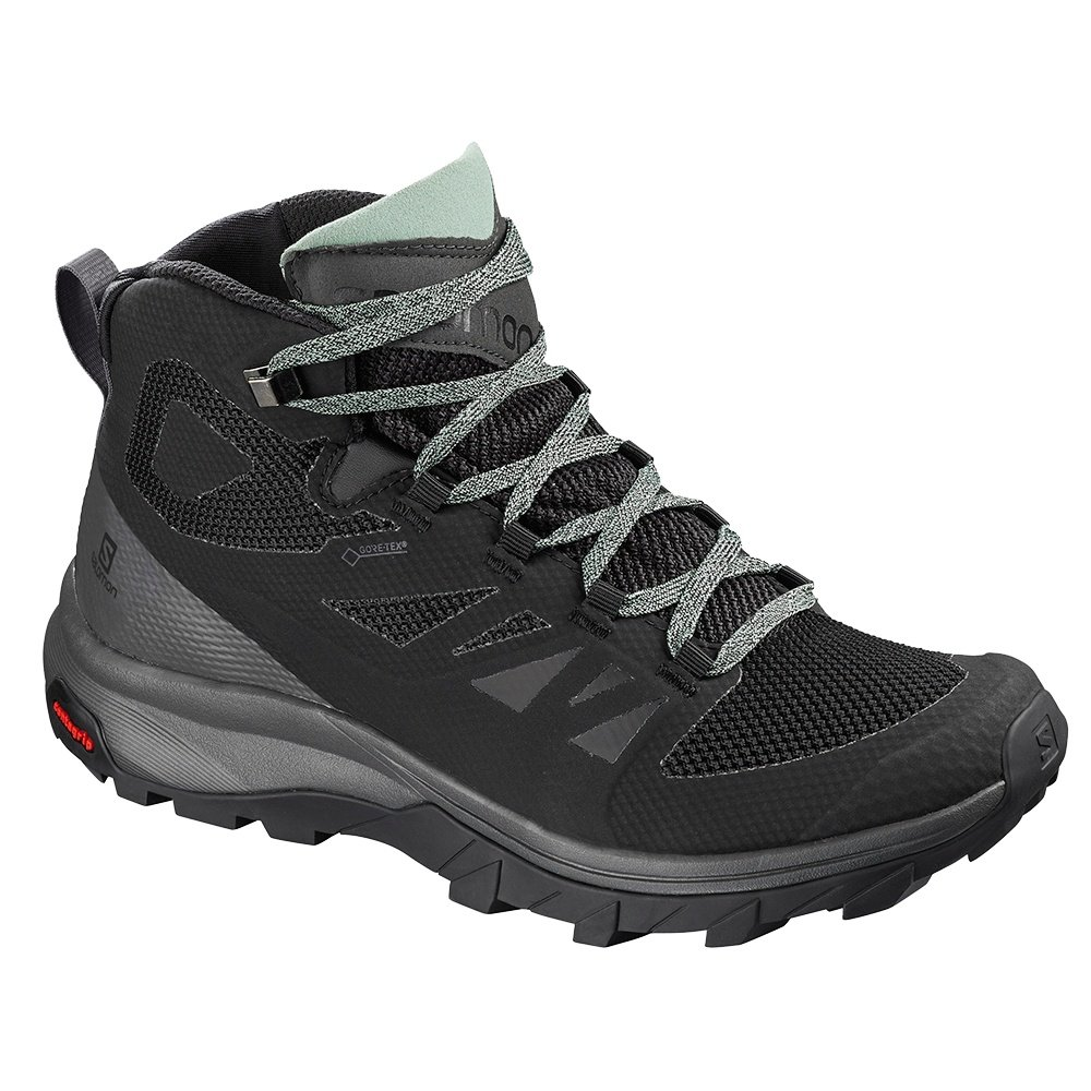 Salomon OUTline Mid GORE-TEX Hiking Boot (Women's) - Black