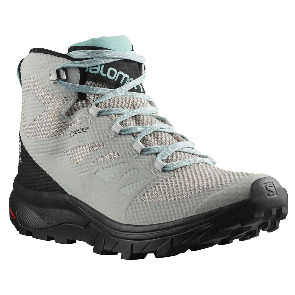 Salomon OUTline Mid GORE-TEX Hiking Boot (Women's) - Lunar Rock