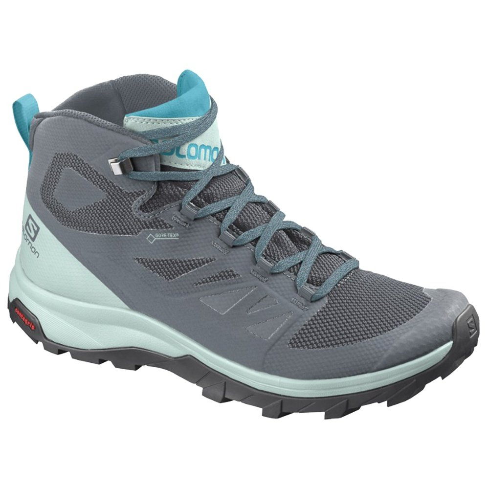 Salomon OUTline Mid GORE-TEX Hiking Boot (Women's) - Stormy