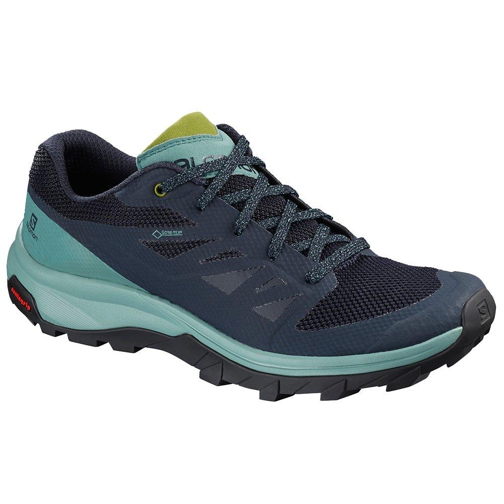 Salomon OUTline GORE-TEX Trail Running Shoe (Women's) - Trellis/Navy Blazer/Guacamole
