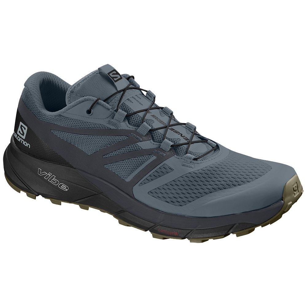 Salomon Sense Ride 2 Trail Running Shoe (Men's) - Stormy Weather