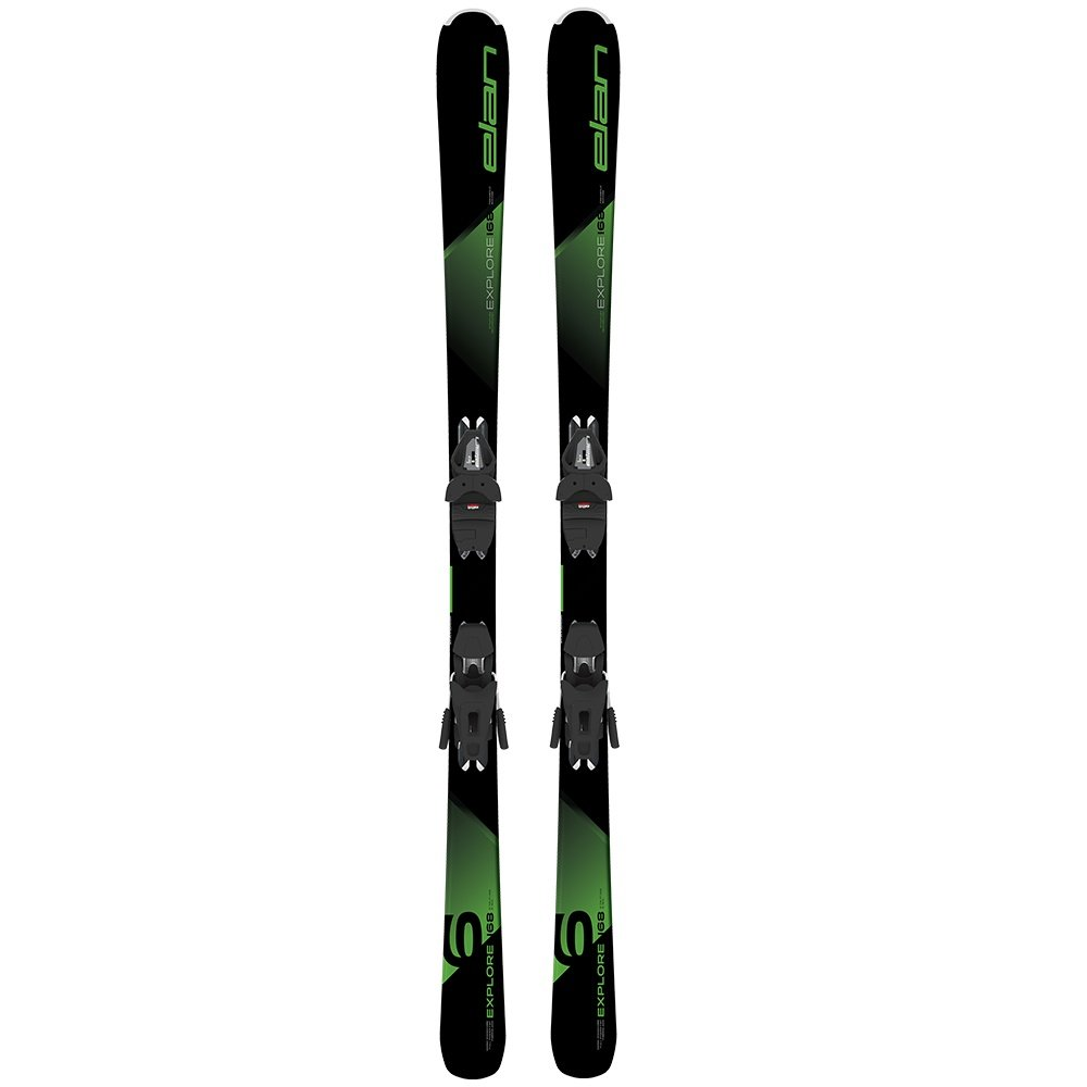 Elan Explore 6 Ski System with EL 9.0 GW Ski Bindings (Men's) -