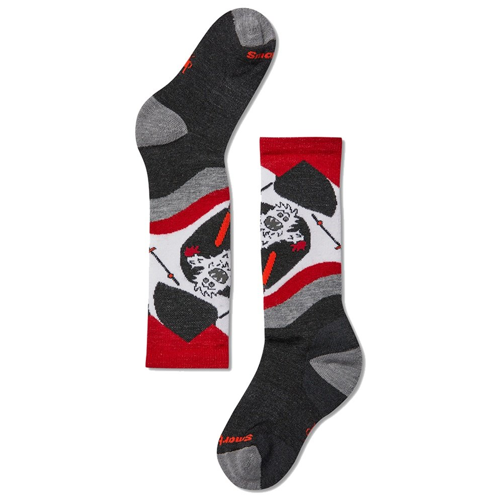 SmartWool Yo Yetti Ski Sock (Kids') - Charcoal
