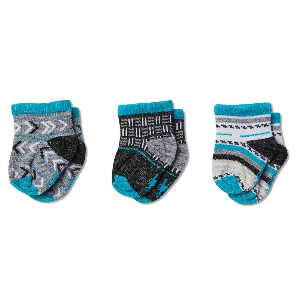 SmartWool Baby Bootie Batch Socks (Little Kids') - Black