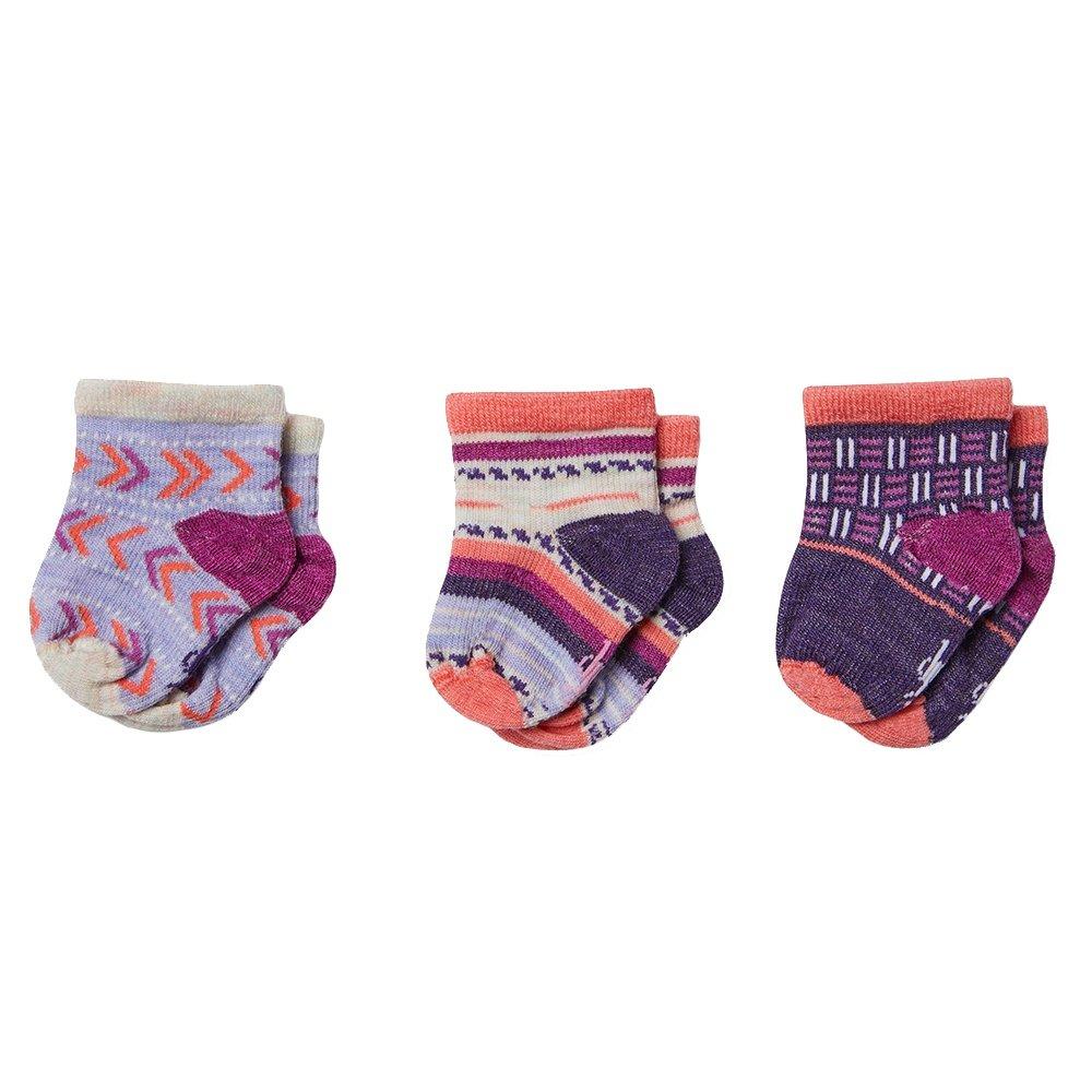 SmartWool Baby Bootie Batch Socks (Little Kids') - Meadow Mauve