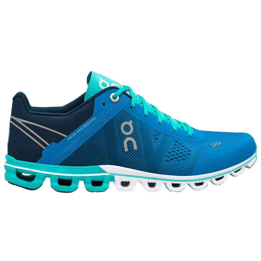 On Cloudflow Running Shoe (Women's) - Malibu/Curacao