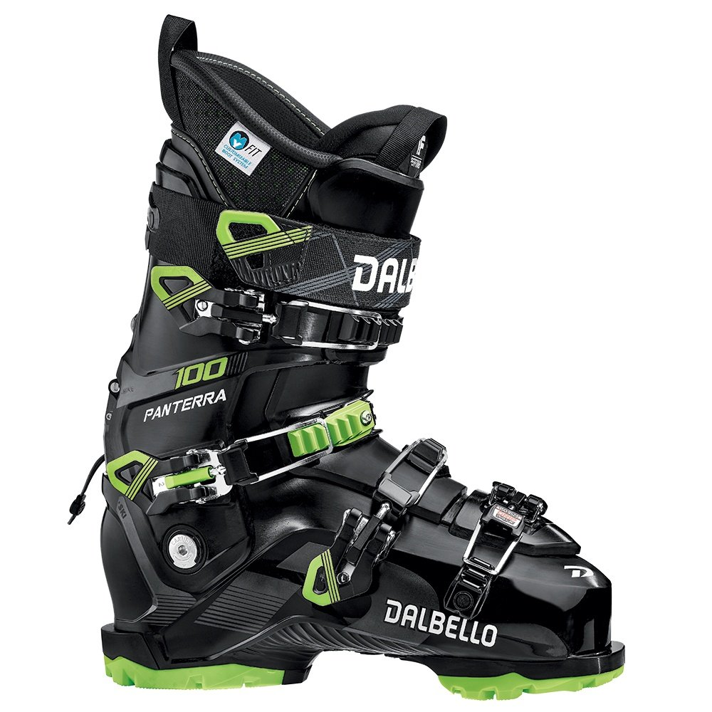 Dalbello Panterra 100 GW Ski Boot (Men's) - Black/lime