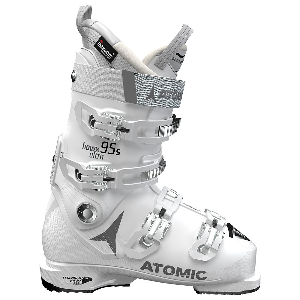 Atomic Hawx Ultra 95 Ski Boot (Women's) - White/Silver