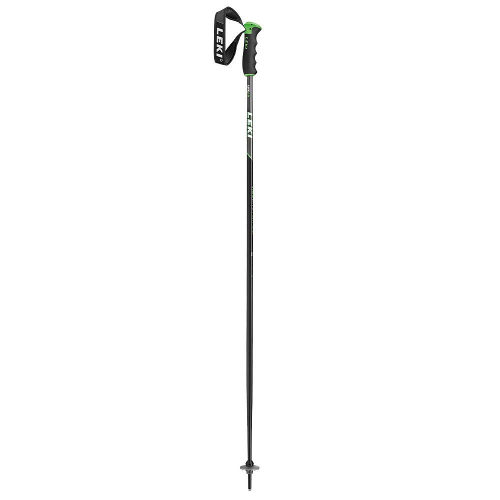 Leki Neolite Ski Pole  - Black/Green