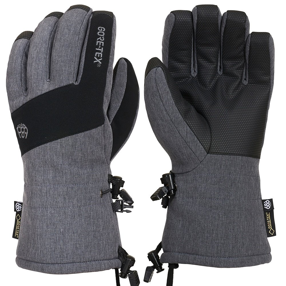 686 GORE-TEX Linear Glove (Men's) - Grey Melange