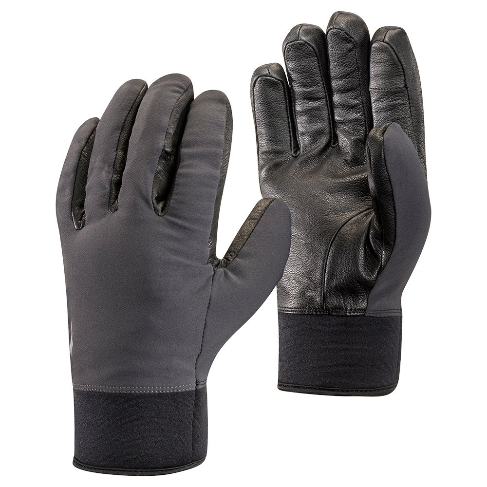 Black Diamond HeavyWeight Softshell Glove (Adults') - Smoke