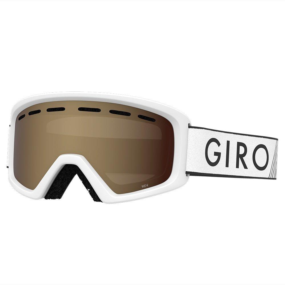 Giro Rev Goggle (Kids') - White Zoom