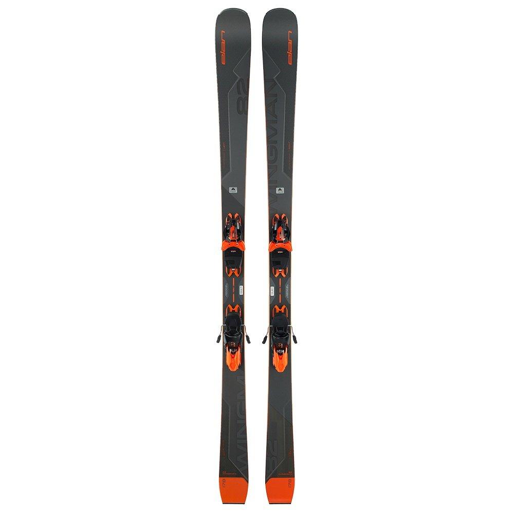 Elan Wingman 82 Ti Ski System with ELX 11 GW Bindings (Men's) -