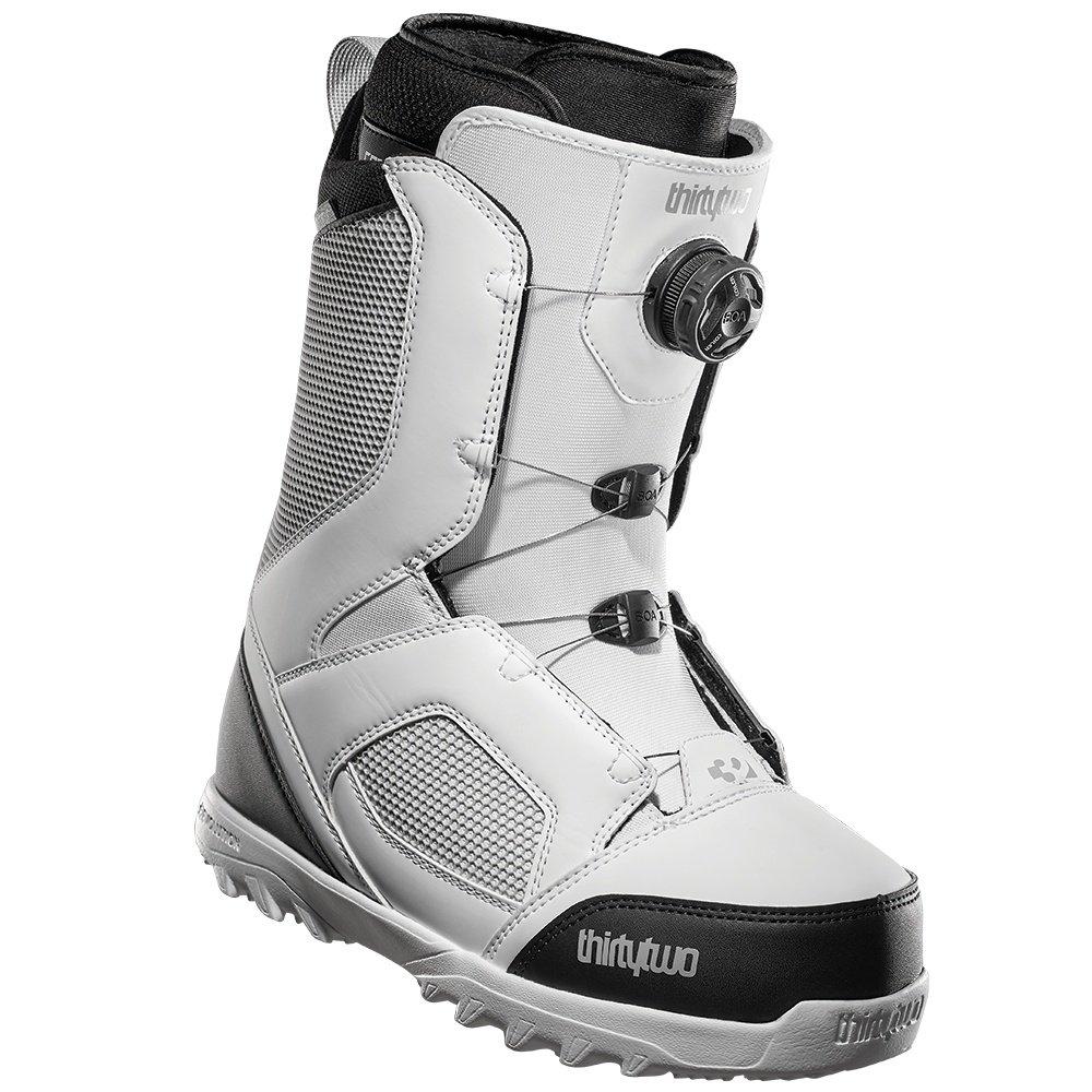 ThirtyTwo STW Boa Snowboard Boot (Men's) - White/Black/Grey