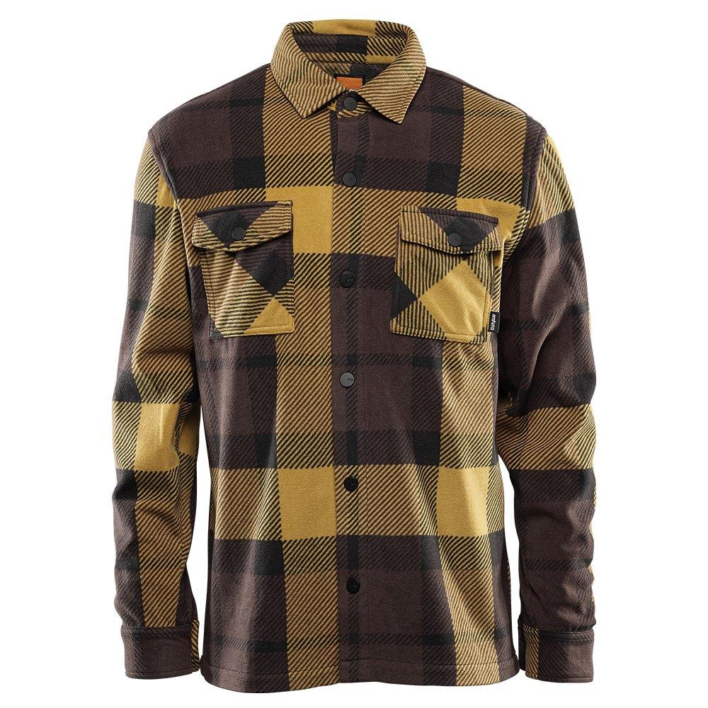 ThirtyTwo Rest Stop Fleece Mid-Layer (Men's) - Brown/Black