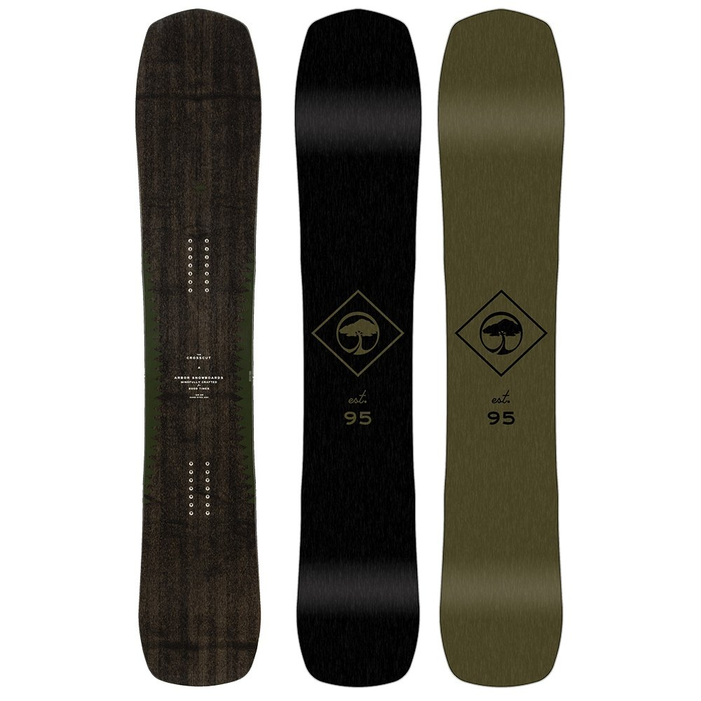 Arbor Crosscut Camber Snowboard (Men's) - 162