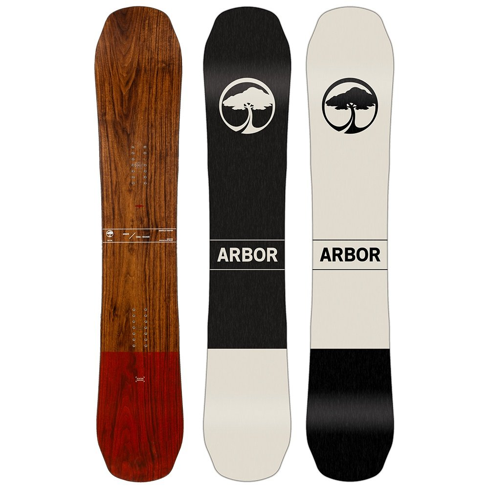 Arbor Coda Rocker Mid Wide Snowboard (Men's) - 161