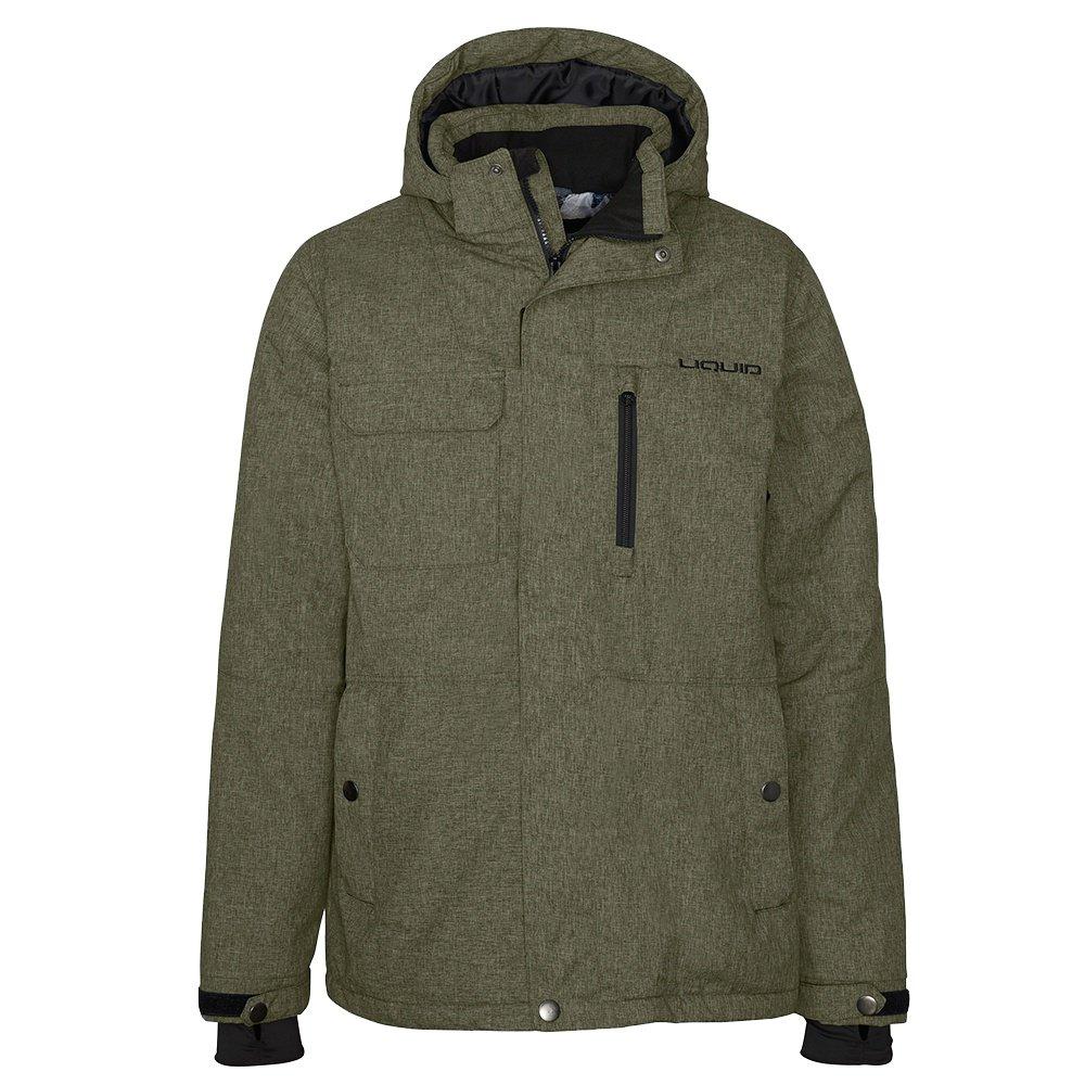 Liquid Lazid Insulated Snowboard Jacket (Men's) - Forest