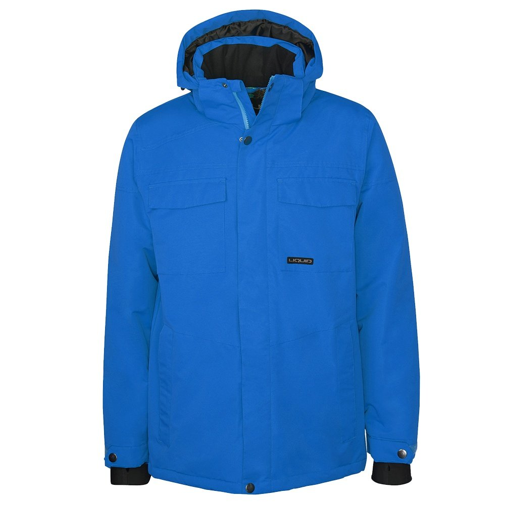 Liquid Fox Insulated Snowboard Jacket (Men's) - Victoria Blue