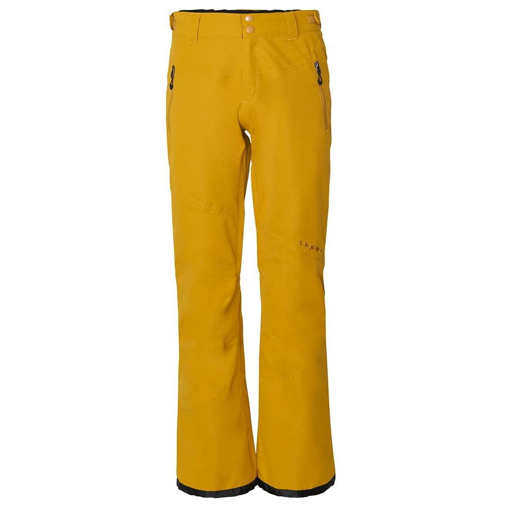 Liquid Mania Shell Snowboard Pant (Women's) - Golden Palm