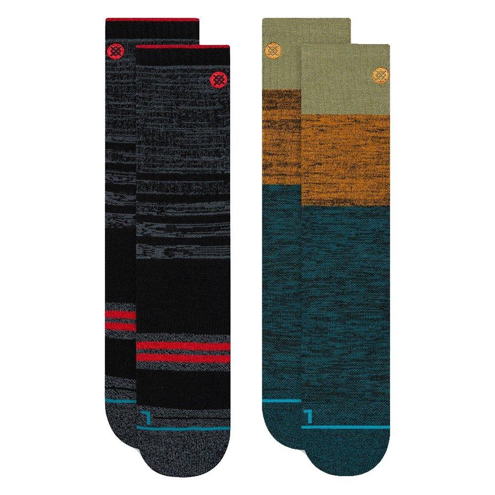 Stance Outdoor 2-Pack Running Socks (Men's) - Multi