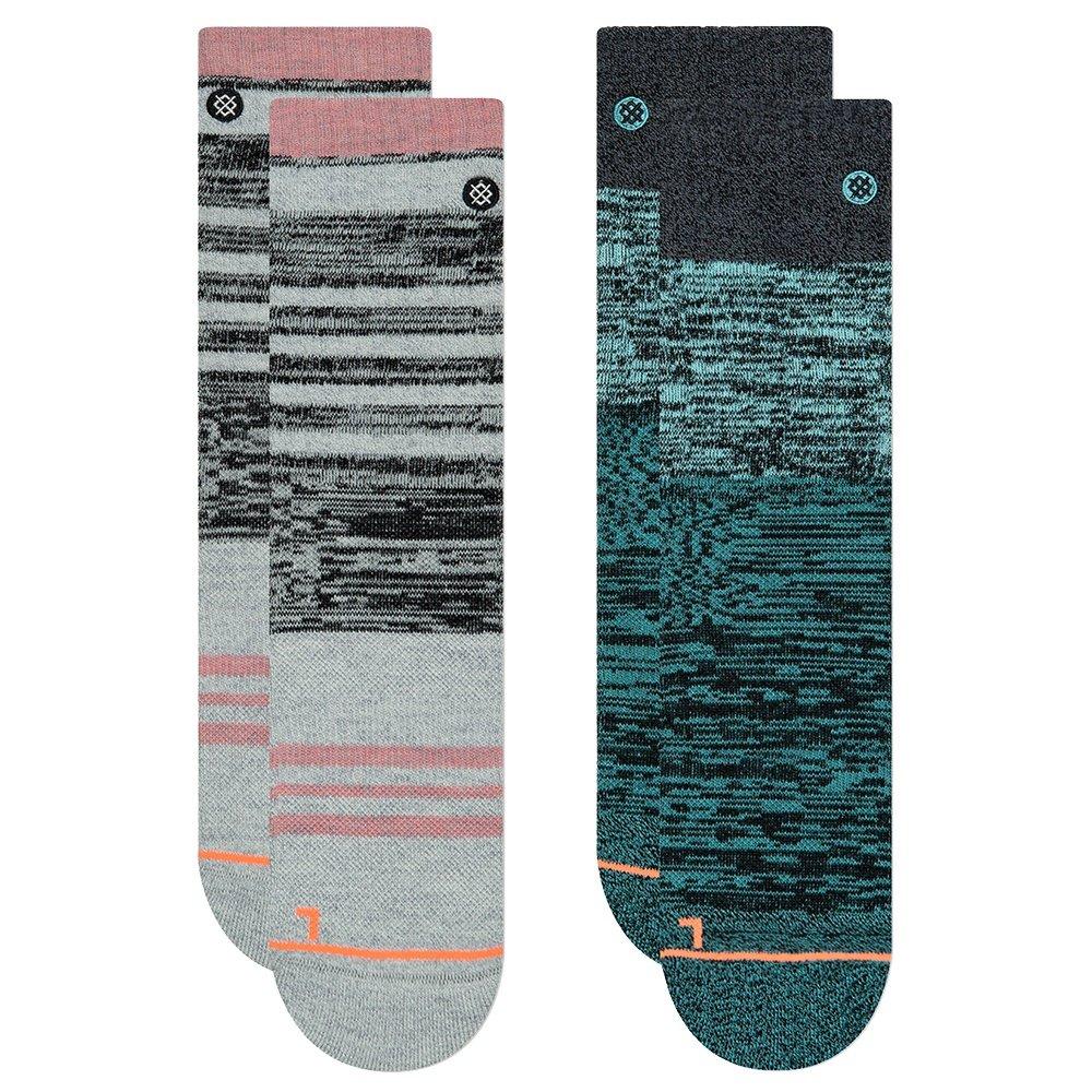 Stance Outdoor 2-Pack Running Socks (Women's) - Multi