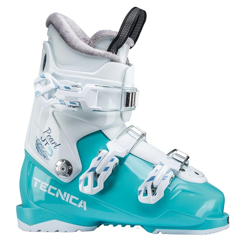 Tecnica JT 3 Pearl Ski Boot (Kids') - White/Aqua