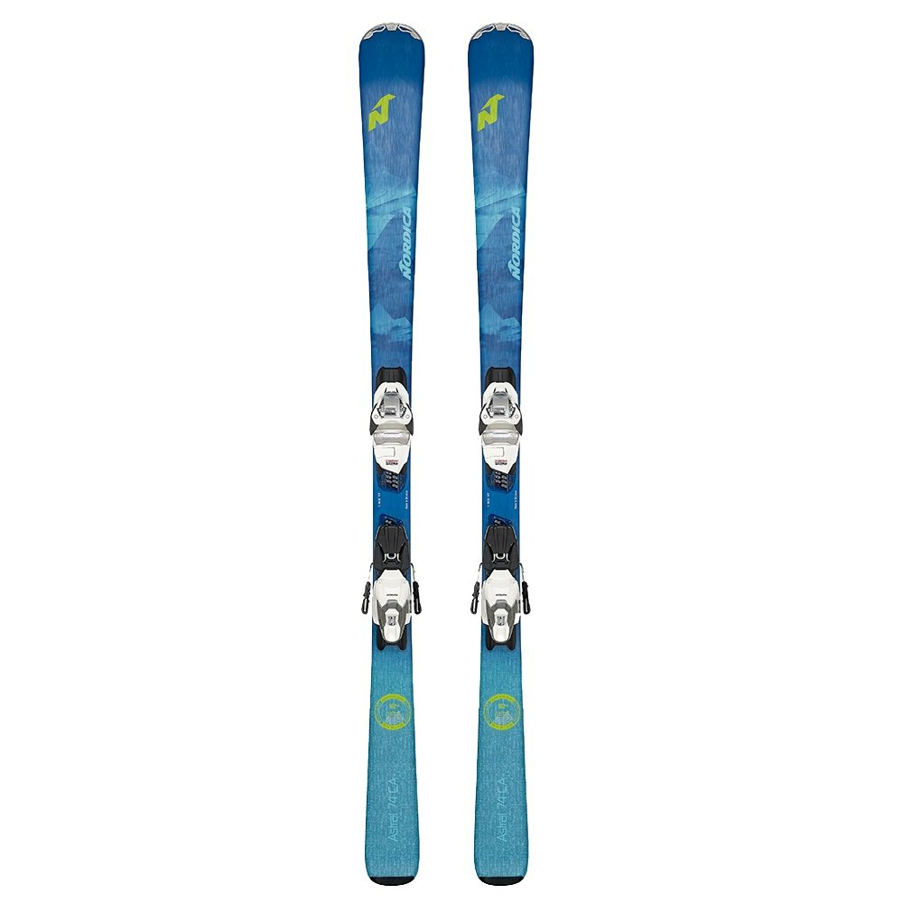 Nordica Astral 74 Ski System with TP2 10 Bindings (Women's) -