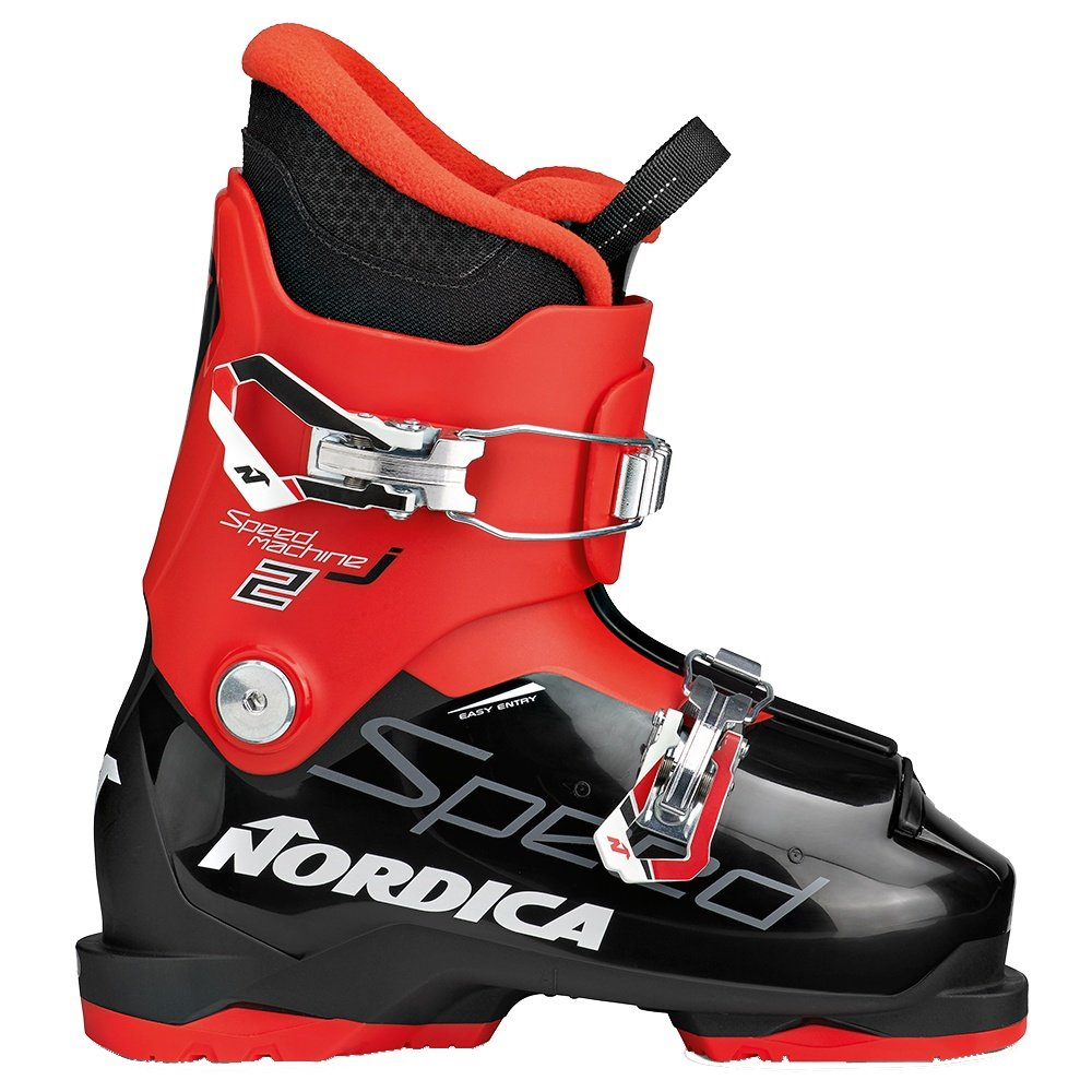 Nordica Speedmachine J2 Ski Boot (Kids') - Black/Red