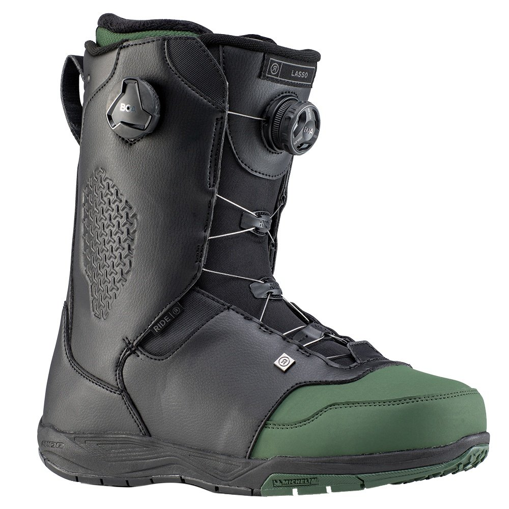 Ride Lasso Snowboard Boot (Men's) - Forest