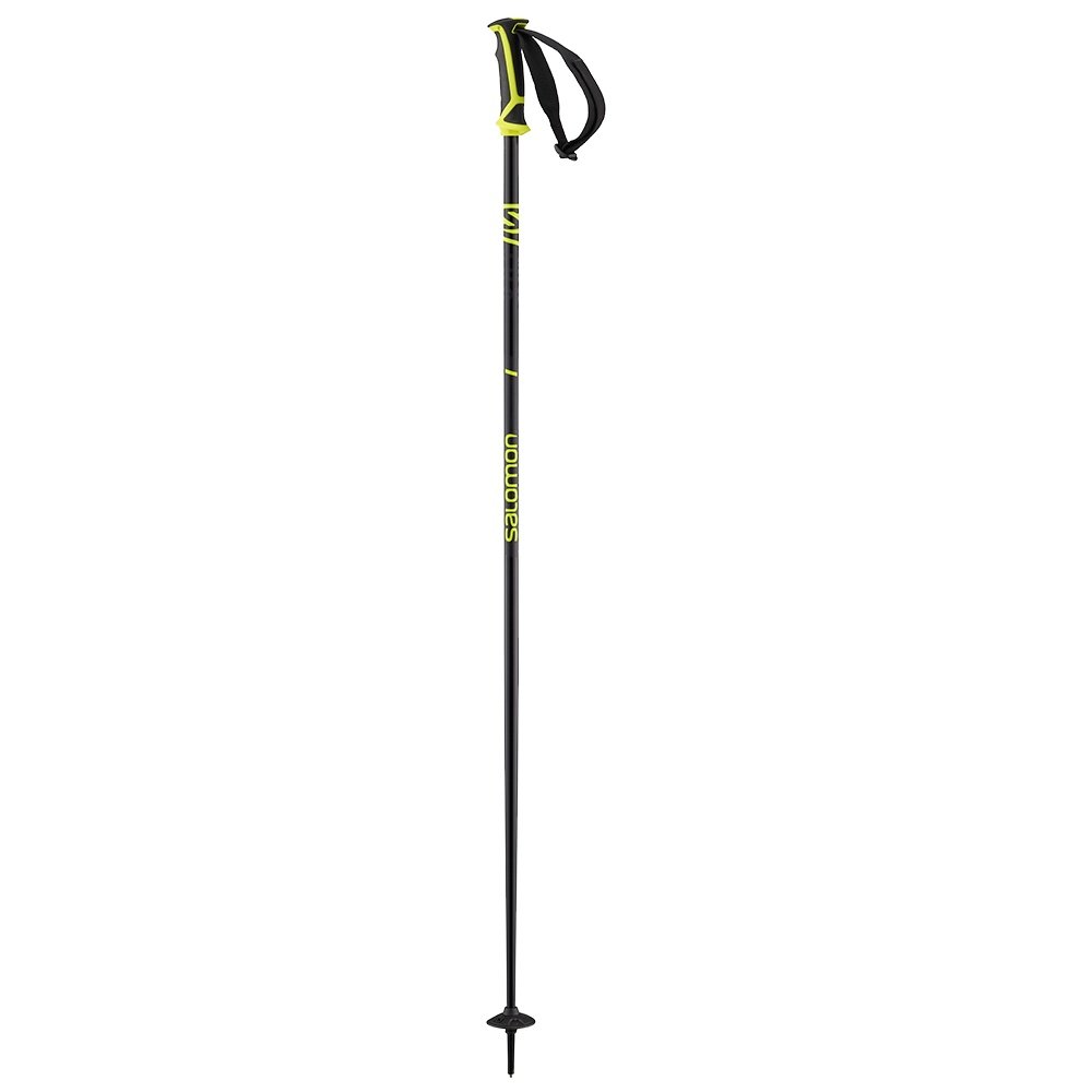 Salomon X 08 Ski Pole - Black/Neon Yellow