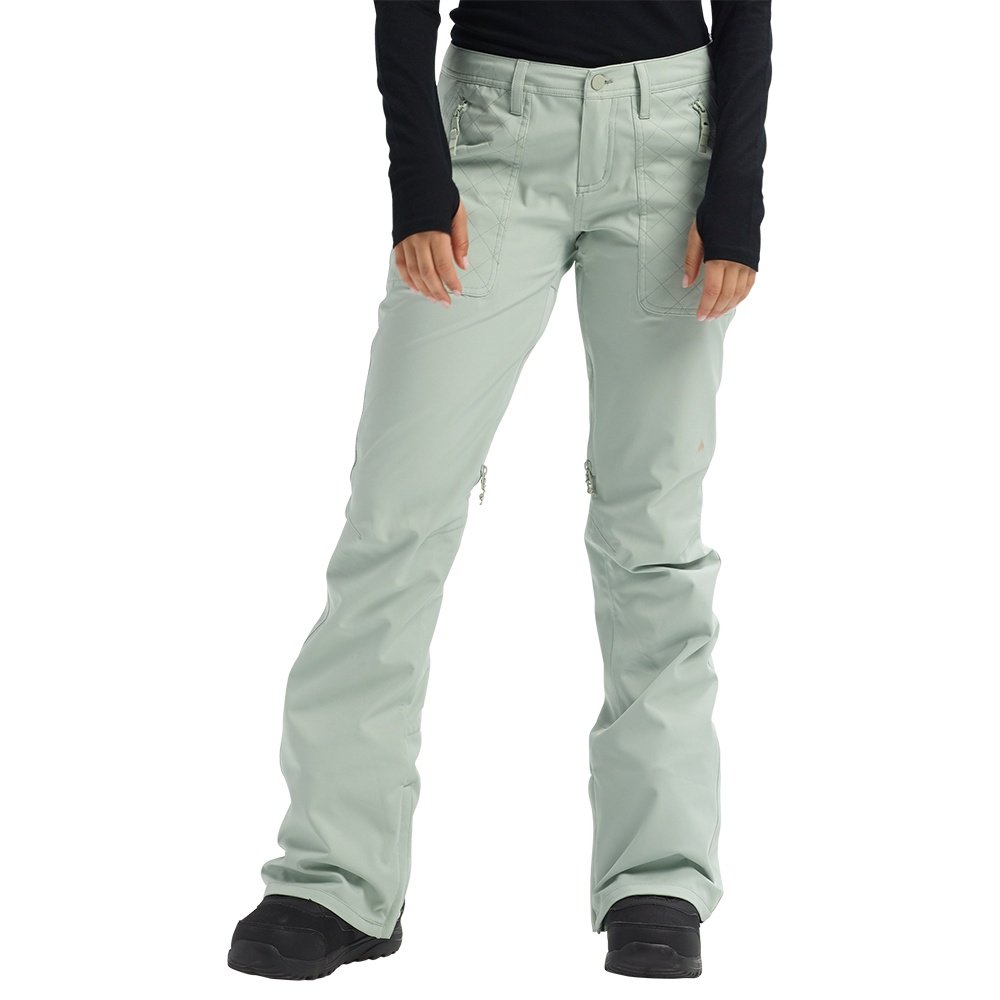 Burton Vida Shell Snowboard Pant (Women's) - Aqua Gray