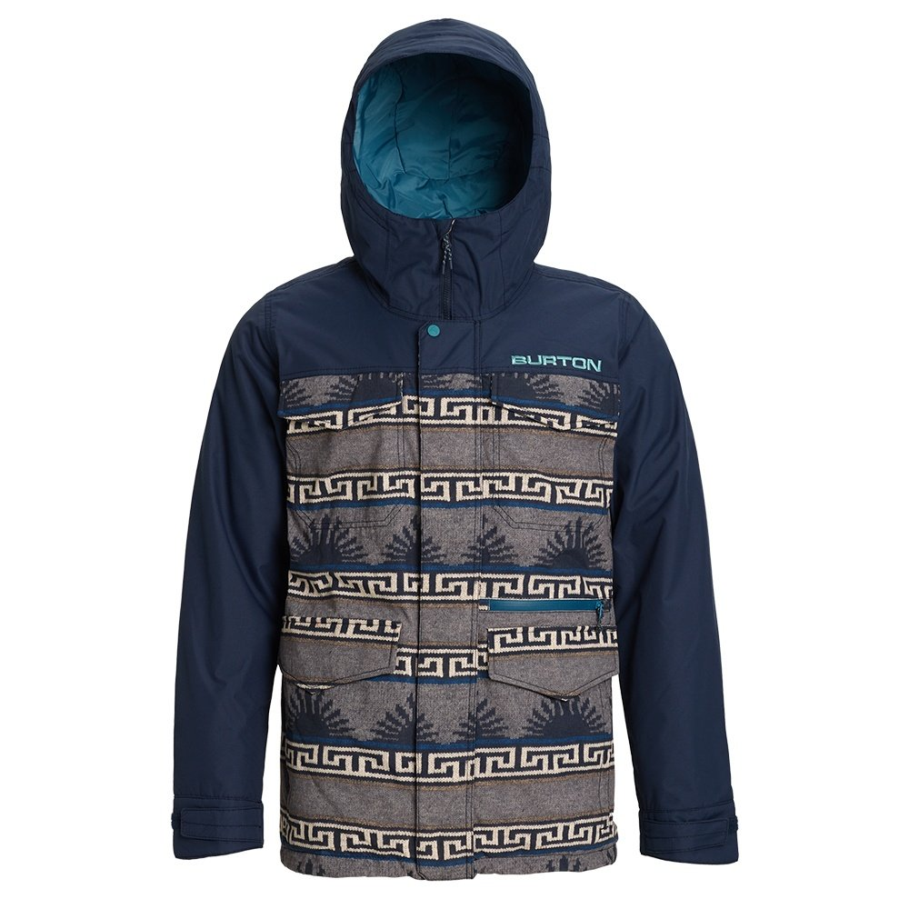 Burton Covert Insulated Snowboard Jacket (Men's) - Spurwink/Dress Blue