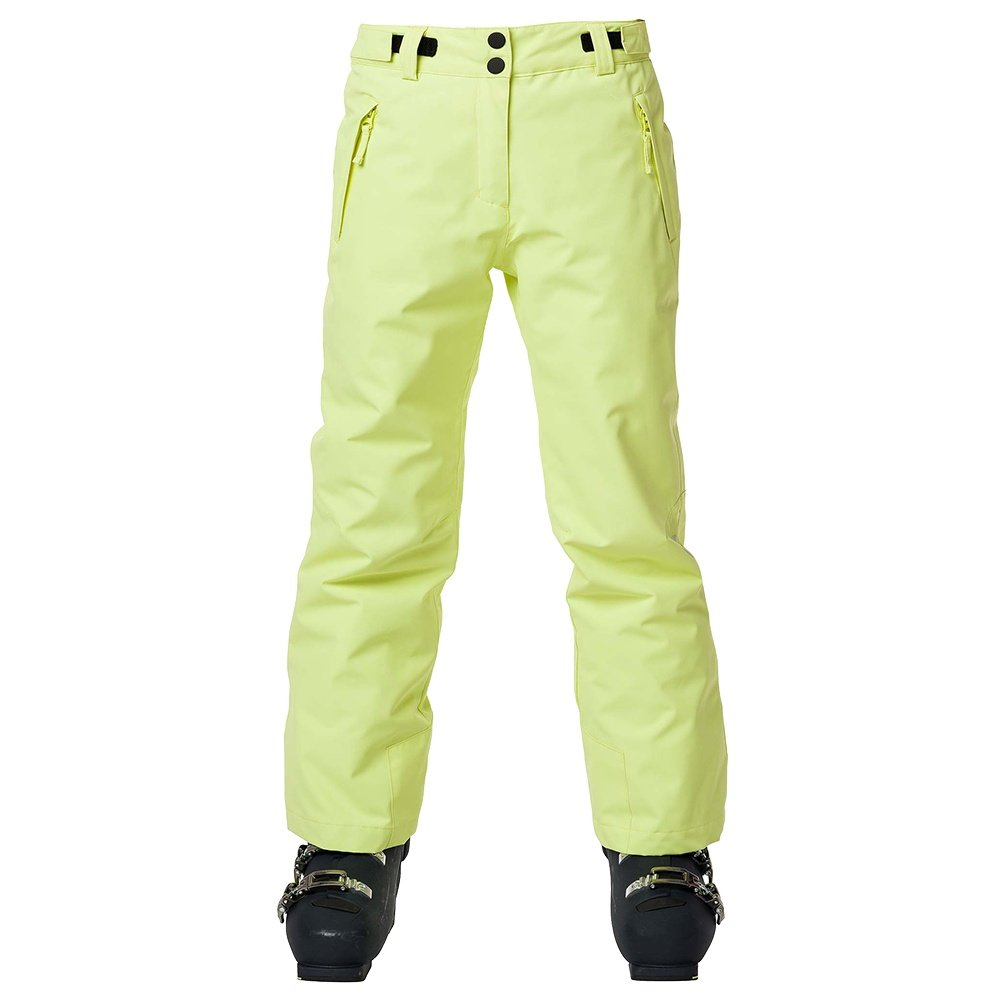 Rossignol Girl Insulated Ski Pant (Girls') - Sunny Lime