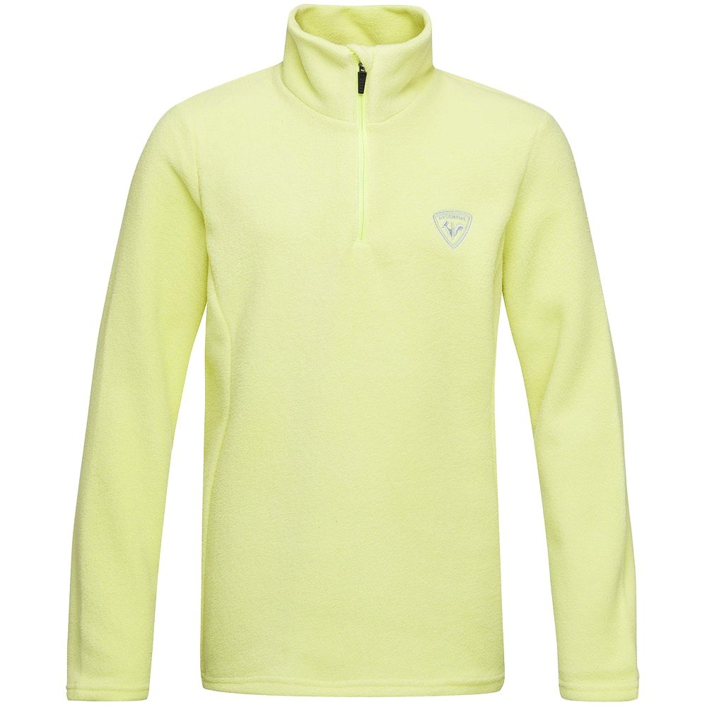Rossignol Girl 1/2 Zip Fleece Mid-Layer (Girls') - Sunny Lime