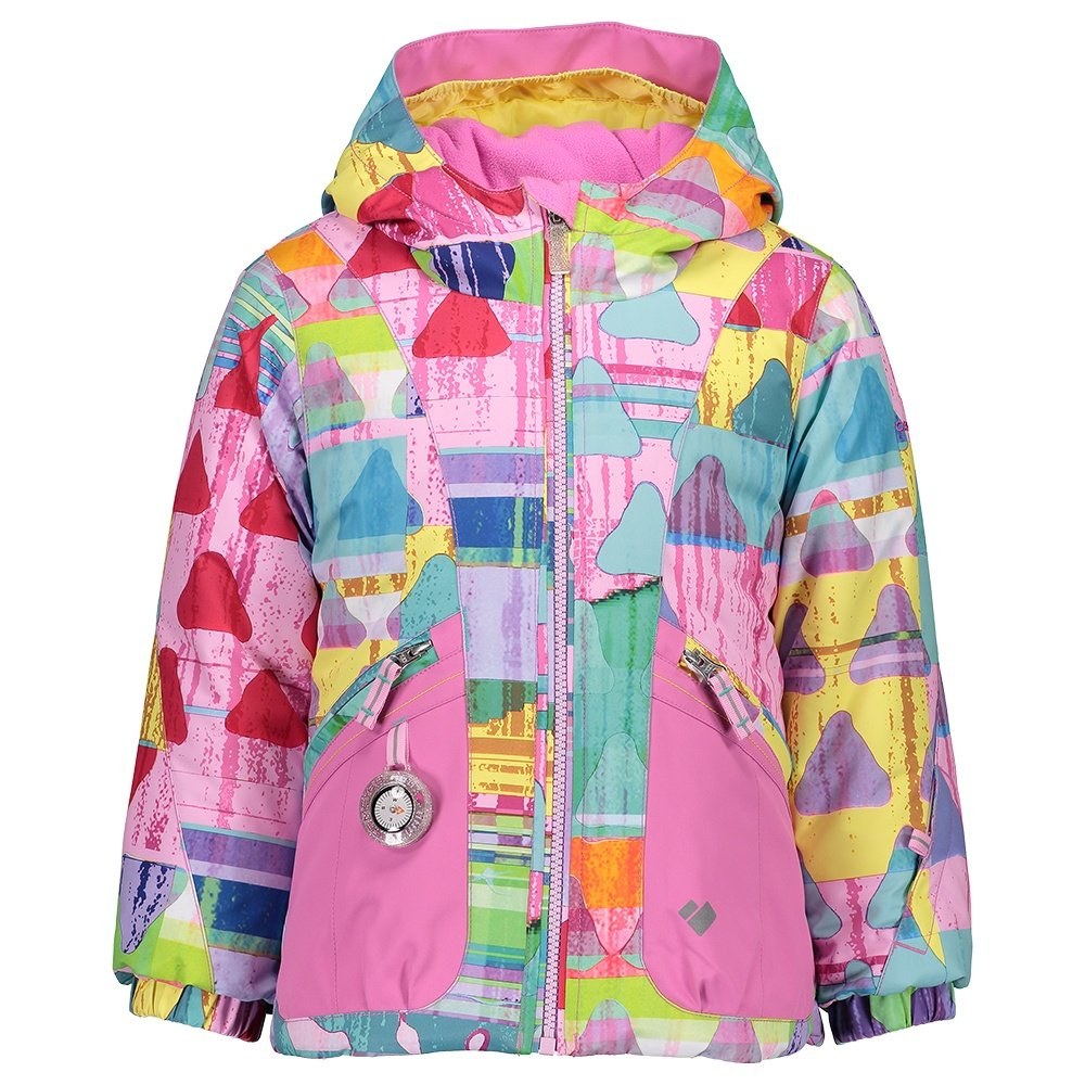 Obermeyer Glam Girl Insulated Ski Jacket (Little Girls') - Candy Land
