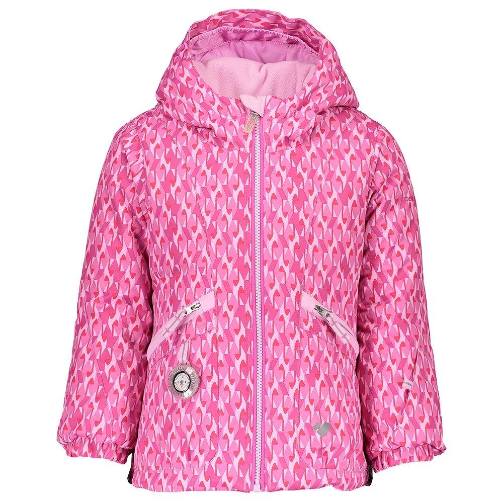 Obermeyer Glam Girl Insulated Ski Jacket (Little Girls') - Pink and Pinker