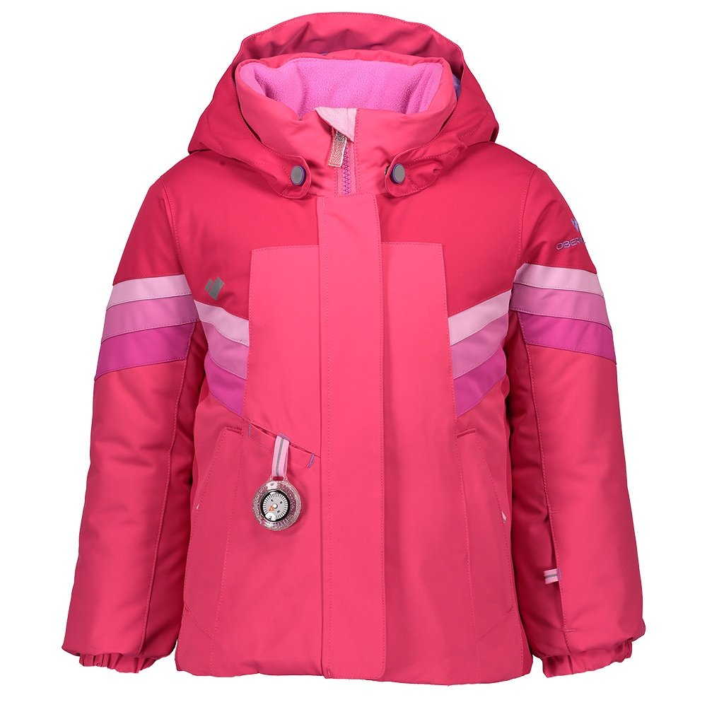 Obermeyer Neato Insulated Ski Jacket (Little Girls') - Parisol Pink