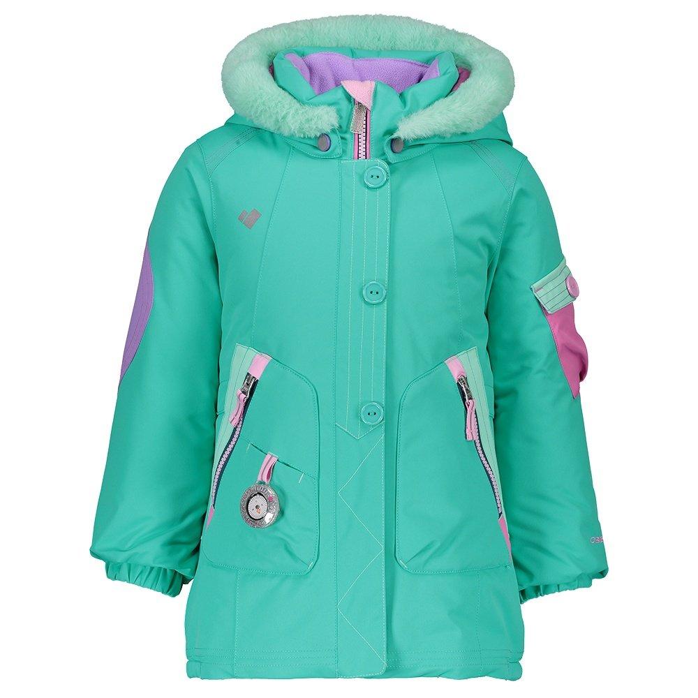 Obermeyer Pop Star Insulated Ski Jacket (Little Girls') - Glacier Pool