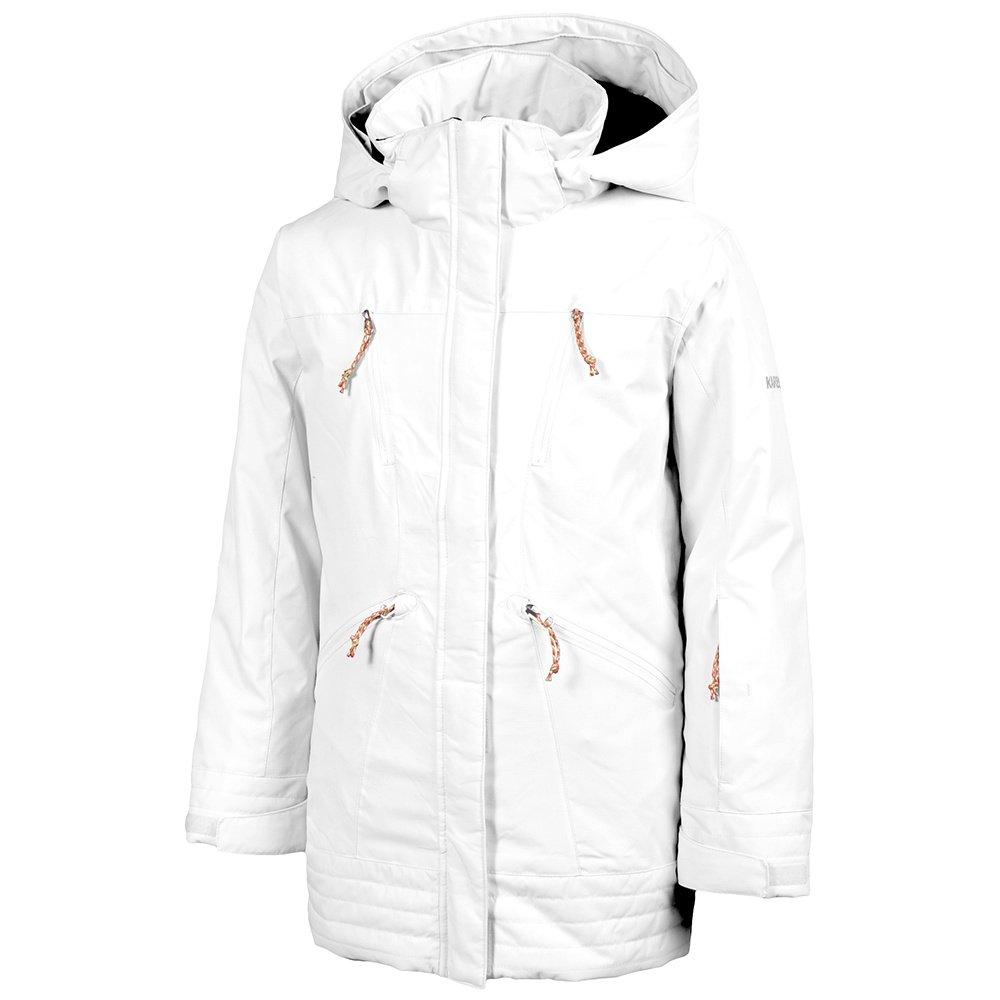 Karbon Nixie Insulated Ski Jacket (Girls') - Arctic White